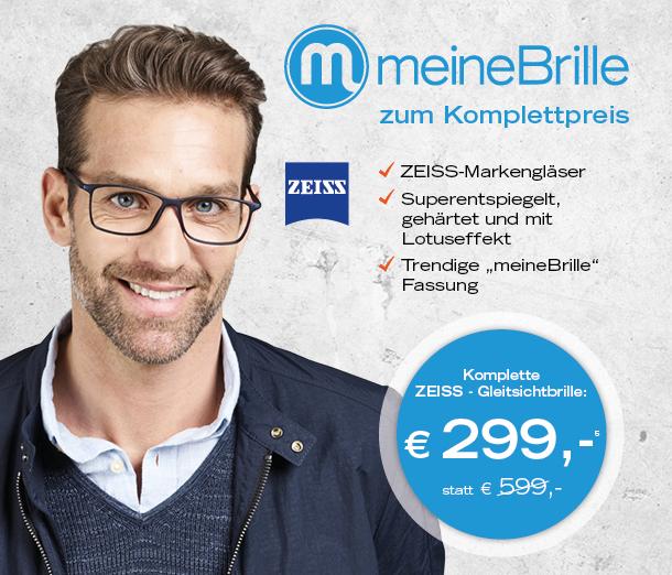 Komplettpreisangebot – Gleitsichtbrille
